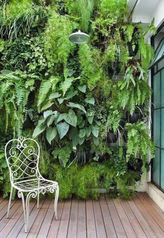 como hacer jardines verticales