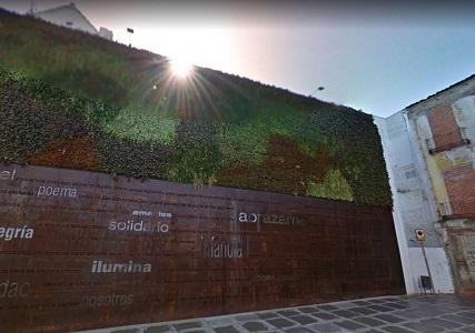 jardin vertical malaga